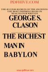 The Richest Man In Babyloon, personal growth, business, literature and fiction, Politics, Religion, Make Money, Free books, online earning pdfhive pdfdrive