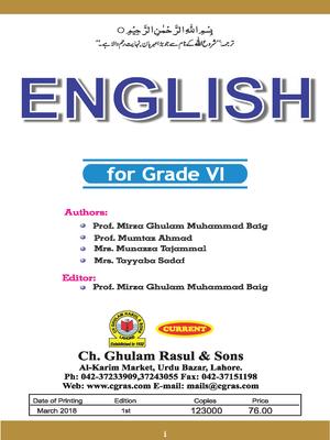 Class 6 All Punjab Textbooks Free PDF Downloads - PDF Hive
