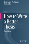 How to Write a Better Thesis Springer International Publishing, how to write a thesis, thesis statement example, thesis statement generator, how to write a thesis paper