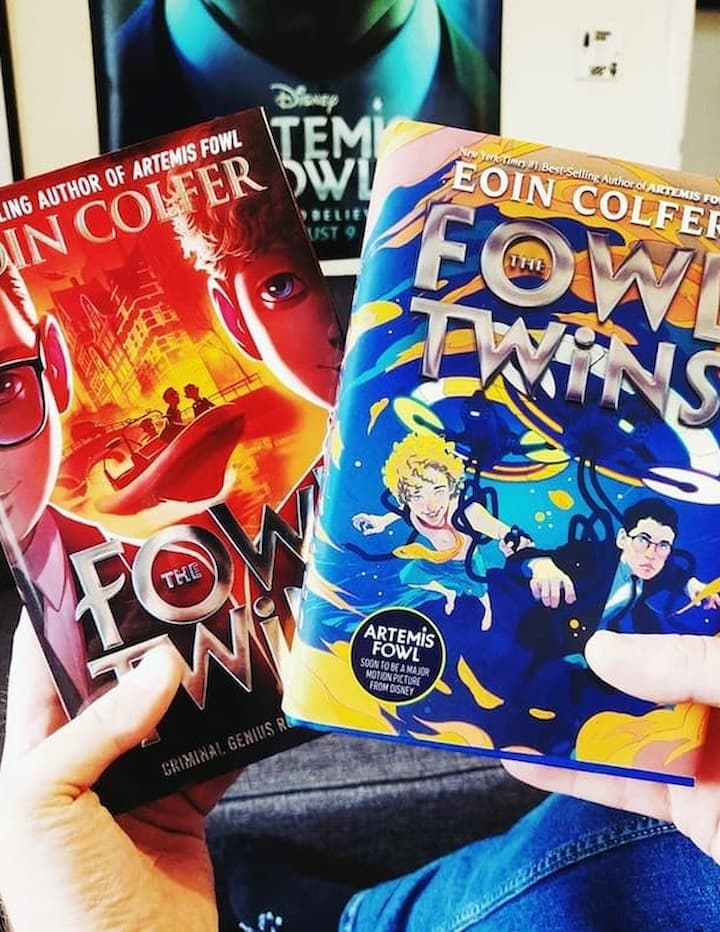 Artemis Fowl Books in Order, The Fowl Twins, Eoin Colfer. The Fowl Twins are released in lot of formats like Kindle, Hardcover, Paperback, Audio book, Audio CD, Library binding.