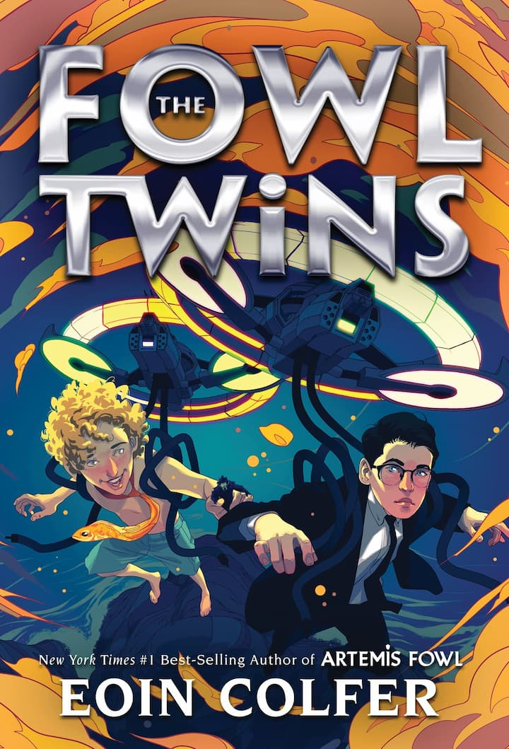 Artemis Fowl Books in Order The Fowl Twins by Eoin Colfer 6