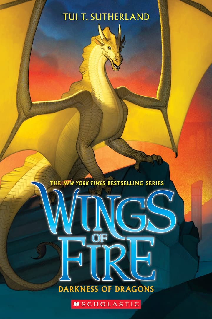 Darkness of Dragons - Wings of Fire Book 10