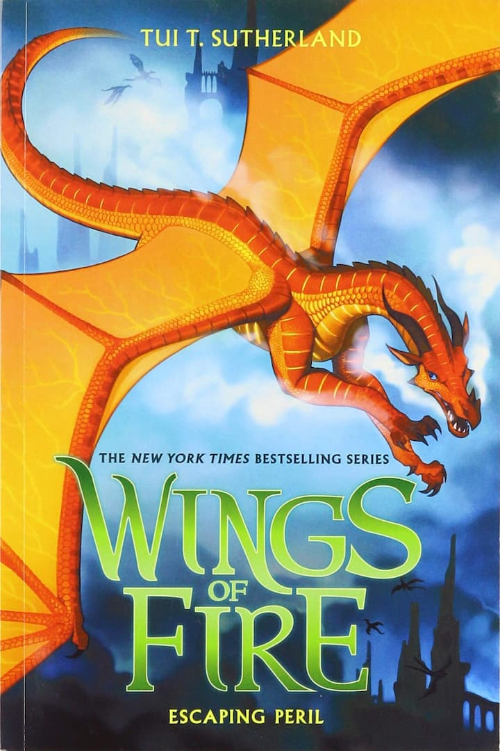 Escaping Peril - Wings of Fire Book 8