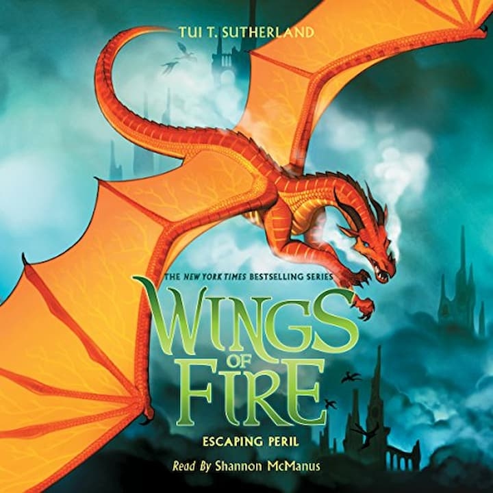Escaping Peril audible - Wings of Fire Book 8