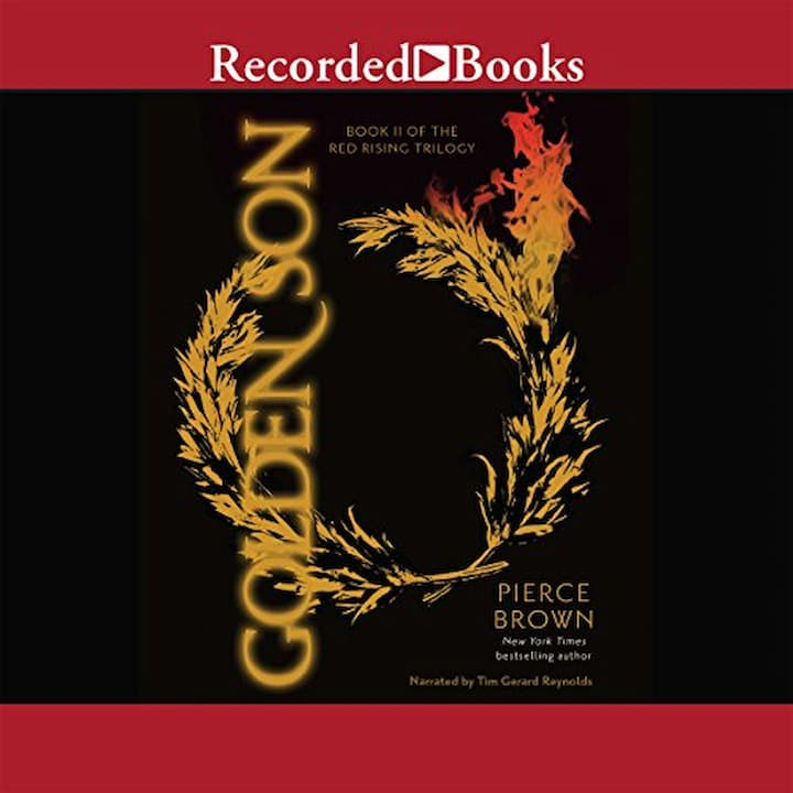 Golden Son Audible - Red Rising Series Book 2