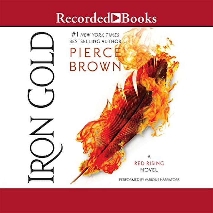 Iron Gold Audible - Red Rising Series Book 4