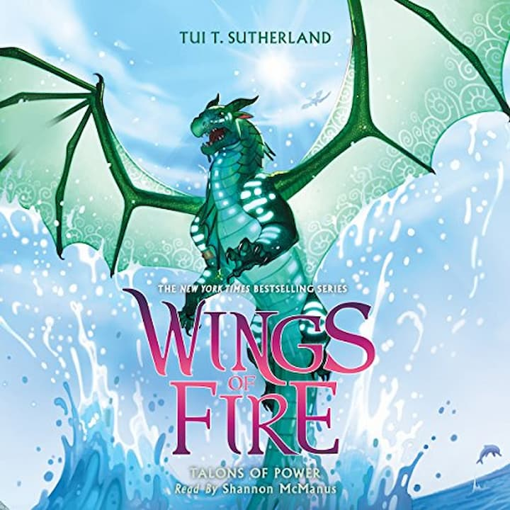 Talons of Power audible - Wings of Fire Book 9