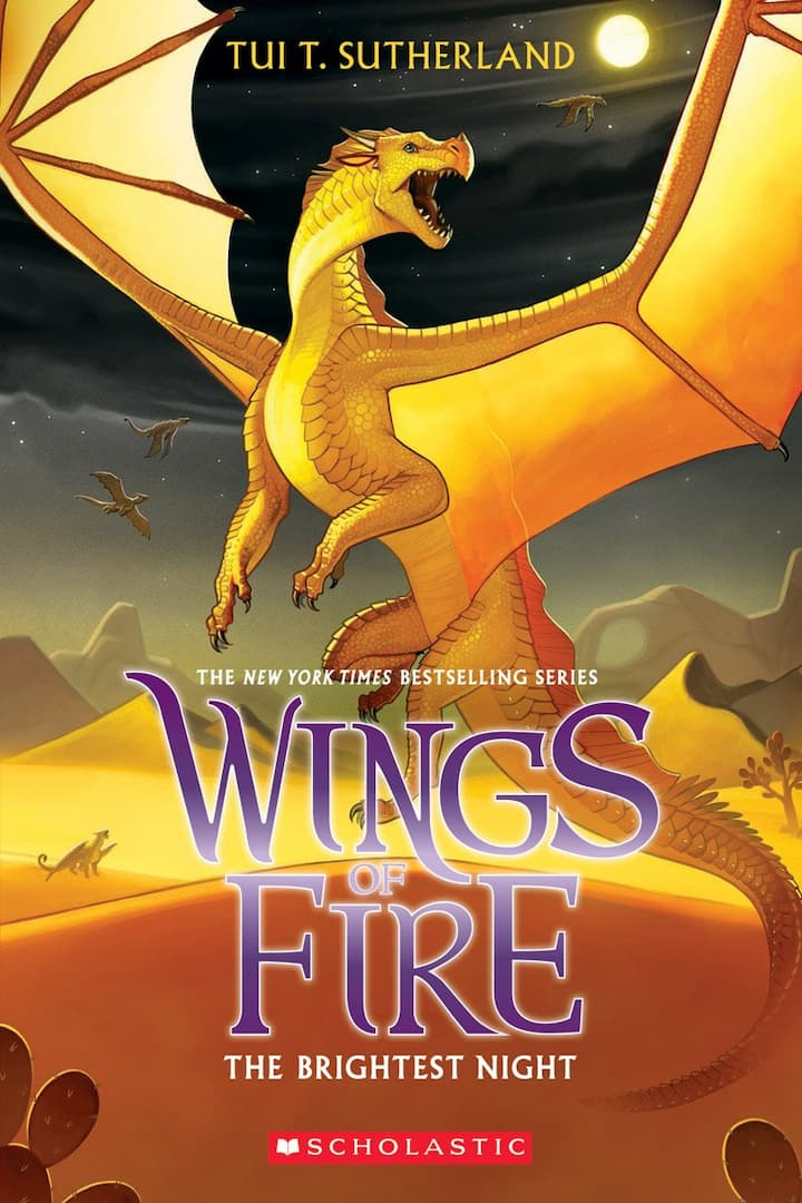 The Brightest Night - Wings of Fire Book 5