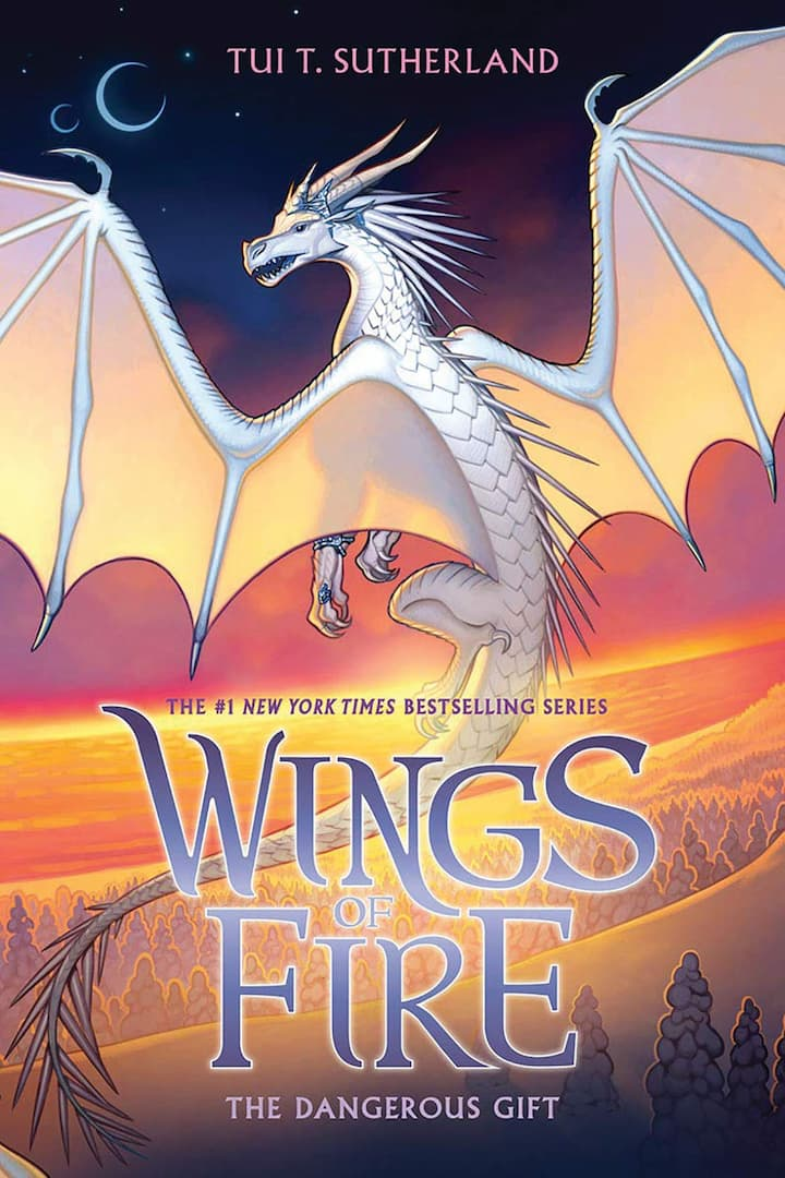 The Dangerous Gift - Wings of Fire Book 14