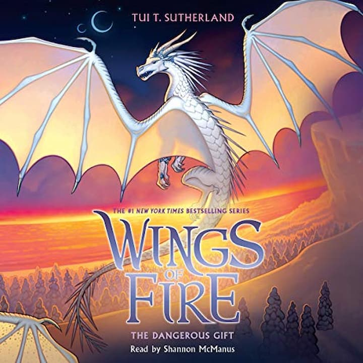 The Dangerous Gift audible - Wings of Fire Book 14