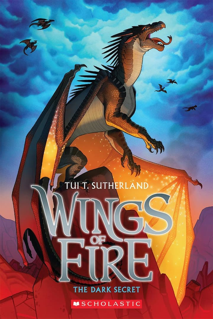The Dark Secret - Wings of Fire Book 4