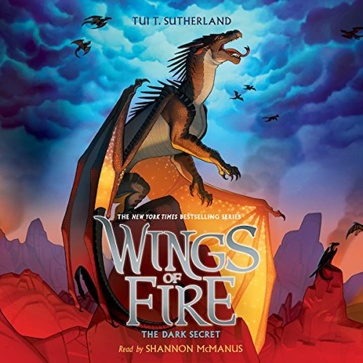 The Dark Secret audible - Wings of Fire Book 4