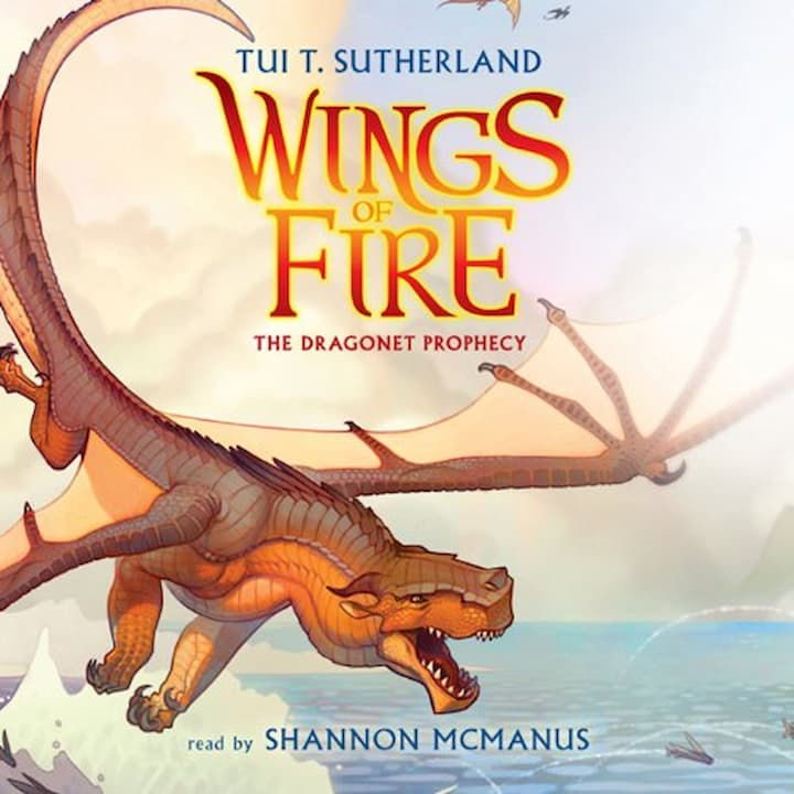 The Dragonet Prophecy audible - Wings of Fire Book 1