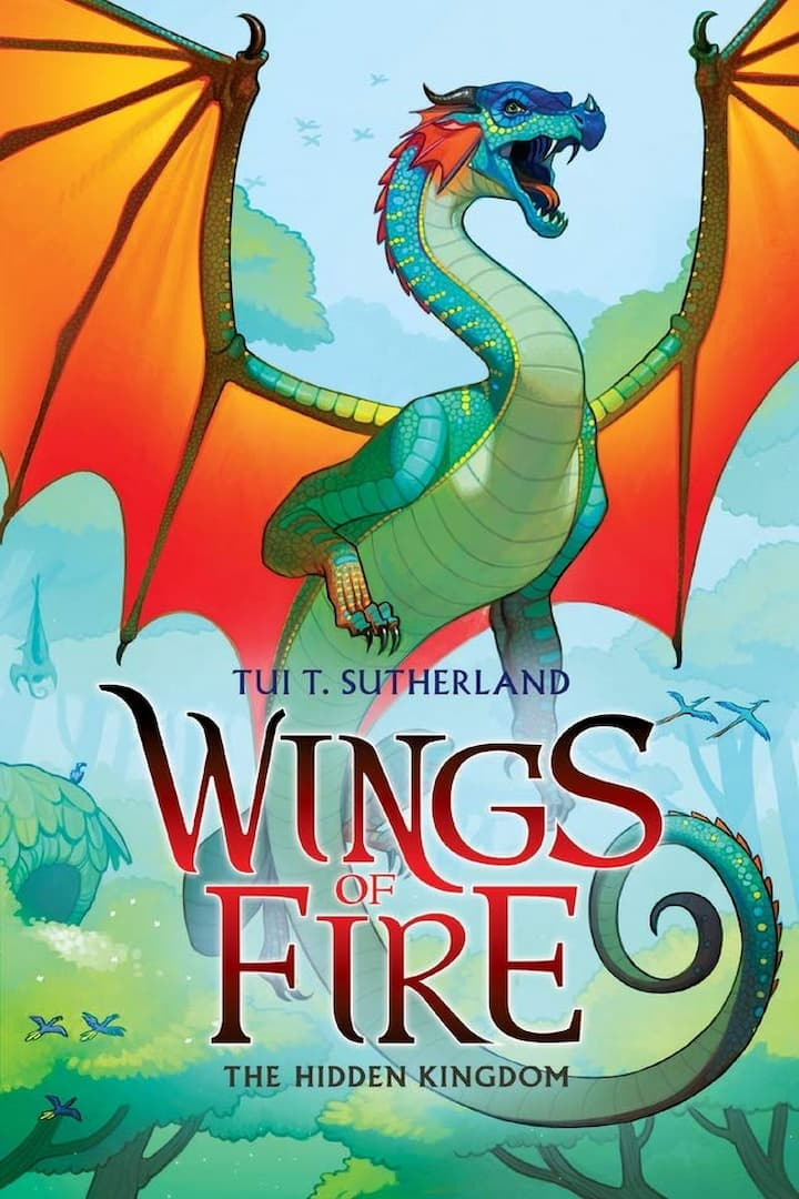The Hidden Kingdom - Wings of Fire Book 3