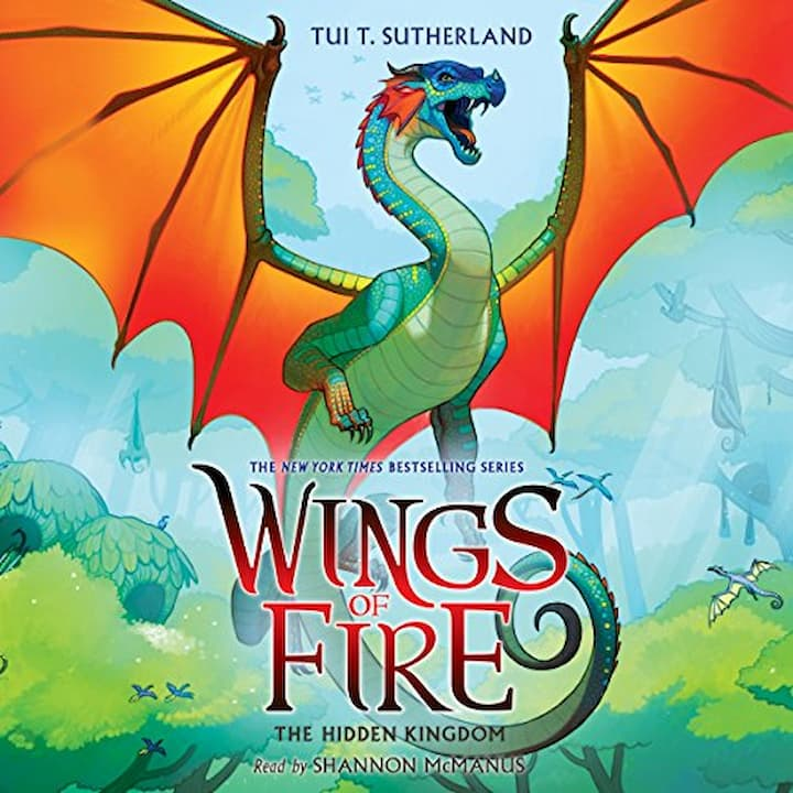 The Hidden Kingdom audible - Wings of Fire Book 3