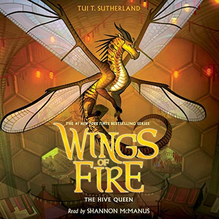 The Hive Queen audible - Wings of Fire Book 12