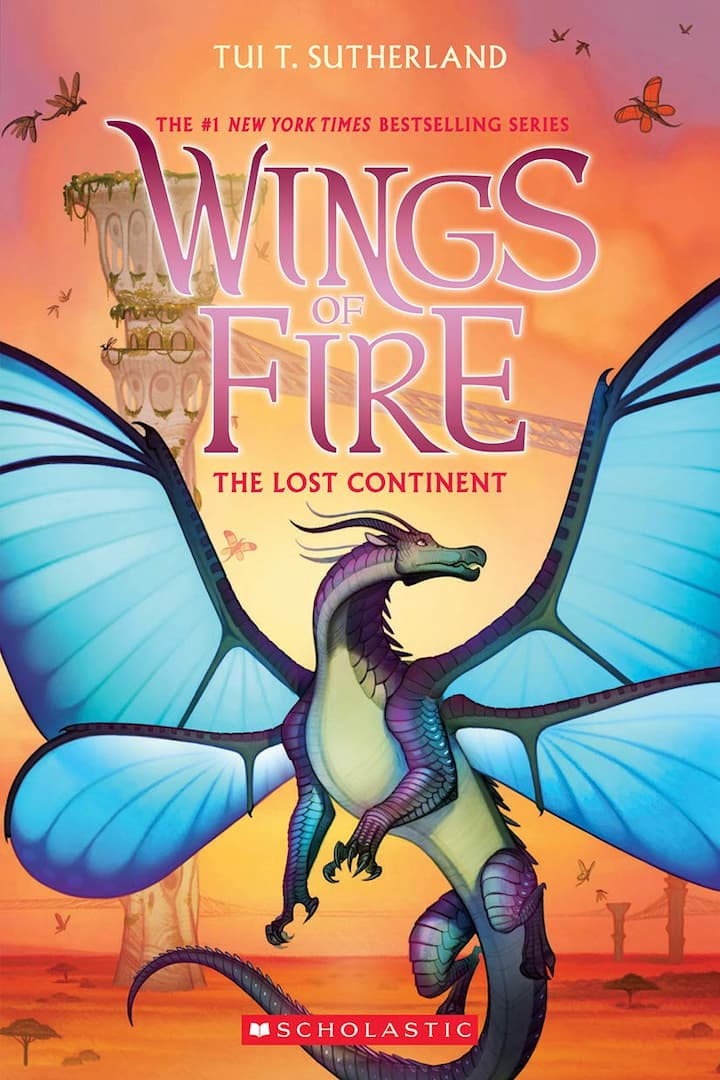 The Lost Continent - Wings of Fire Book 11