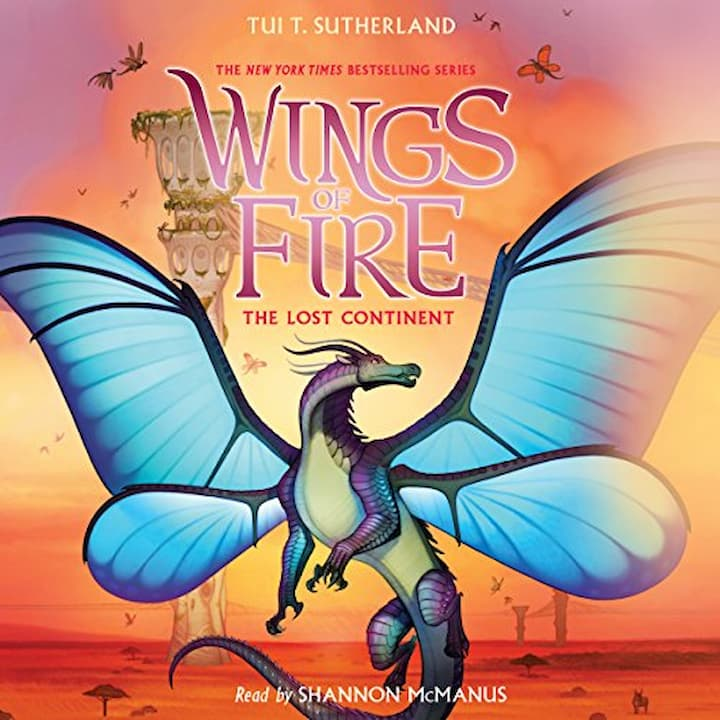 The Lost Continent audible - Wings of Fire Book 11