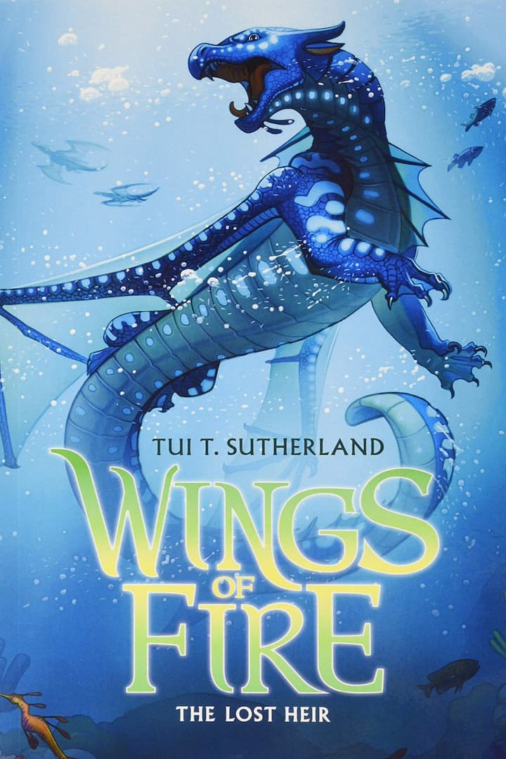 The Lost Heir - Wings of Fire Book 2