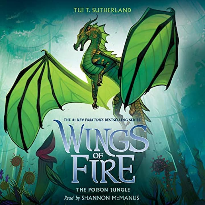 The Poison Jungle audible - Wings of Fire Book 13