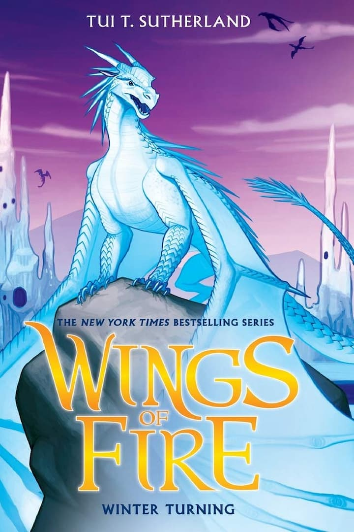 Winter Turning - Wings of Fire Book 7