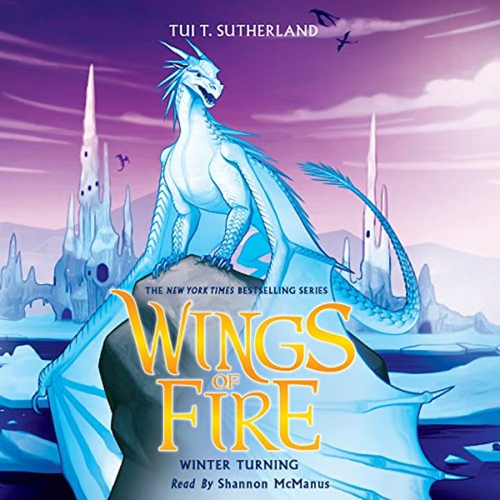 Winter Turning audible - Wings of Fire Book 7